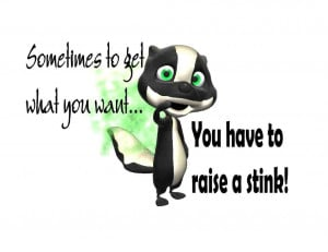 ... -Made-T-Shirt-Get-What-Want-Raise-Stink-Skunk-Fumes-Odor-Funny-Humor