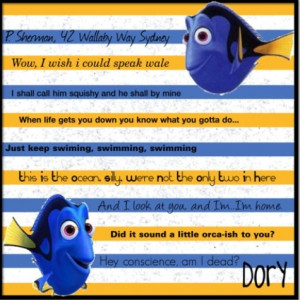 Dory quotesDisney Magic, Character Quotes, Quotes Favorite, Favorite ...