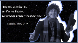 Tom Baker Doctor Who Jelly Babies Tom baker - i am the doctor by