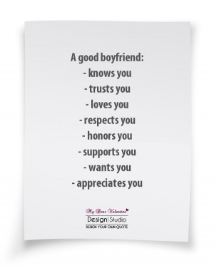 Boyfriend Quotes - A good boyfriend knows you