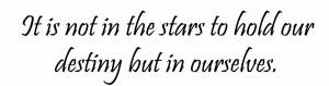 Destiny Famous William Shakespeare Quotes
