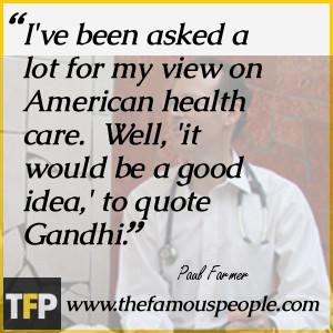 Paul Farmer Biography