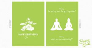 HAPPY zen BIRTHDAY