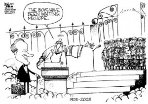 BOB HOPE MEMORIAL CARTOONS