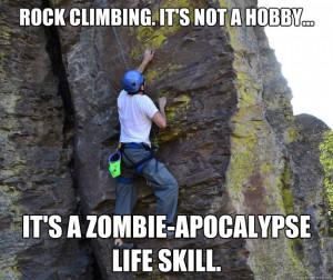 Rock Climbing Meme