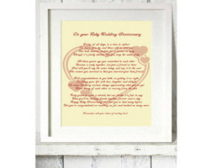Popular items for 40th wedding anniversary on Etsy