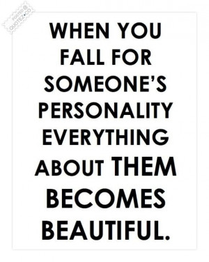 Personality Quote...