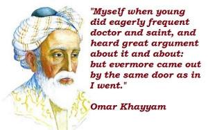 Omar khayyam quot...