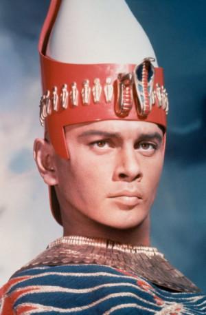 ... names yul brynner characters pharaoh ramses ii still of yul brynner