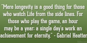Gabriel Heatter Quote