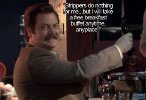 Parks and Recreation': All of Ron Swanson's Quotes About Meat in One ...