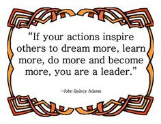 leadership poster quotes about leaders leader in me quotes 7 habits ...