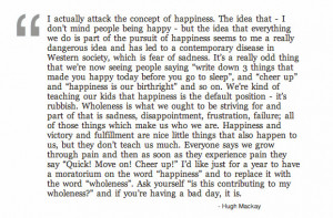 Happiness vs. Wholeness