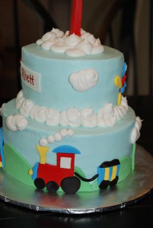 Gonna Bright Sunshine Day Cake