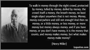 More Henry Miller Quotes