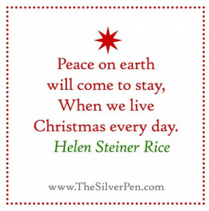 Every Day - Helen Steiner Rice - Inspirational Picture Quotes ...