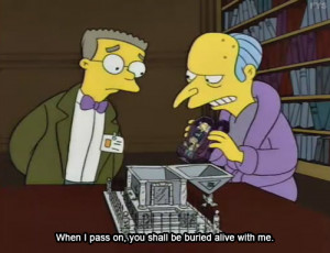Blog Of The Day: With Pleasure, Sir – Burns und Smithers