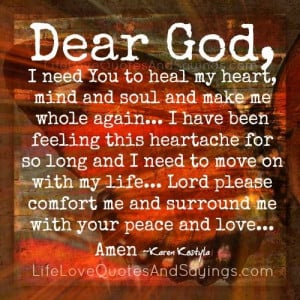 Need You To Heal My Heart..