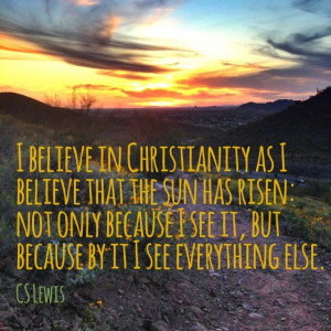 Lewis Quote christianity