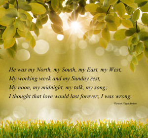 Love Quote Picture Of He was my North my South my East my West