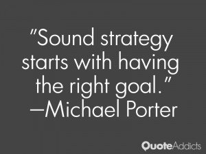 Sound strategy starts with having the right goal Wallpaper 1