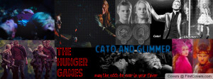 Hunger Games Cato and Glimmer