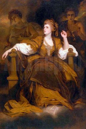 Title Sarah Siddons as the Tragic Muse Artist Sir Joshua Reynolds