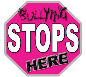 Stop Bullying in Schools Bullying stops here.