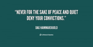 Peace and Quiet Quotes