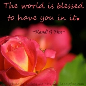 You Are a Blessing Picture Quote | Inspirational Life Quotes and ...