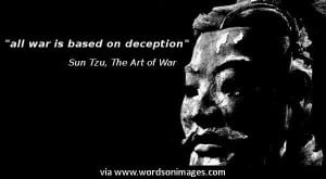 Quotes by sun tzu