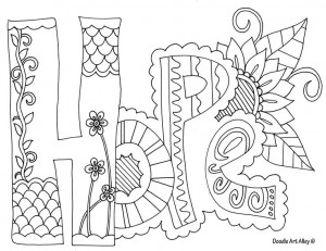 ... Coloring Pages, Hope Colors, Colors Pages Adult, Adult Colors Pages