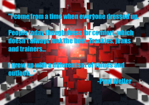 Union Jack Mod Image by Guy Davies with Paul Weller Quote 1 on ...
