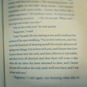 quotes love cute book love quotes augustus the fault in our stars ...
