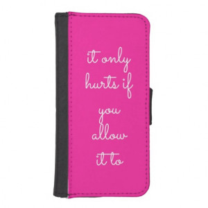Girly Quotes iphone5 Wallet Case Phone Wallet Case