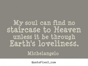 Picture Quotes From Michelangelo