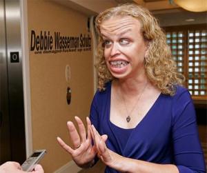 Debbie Wasserman Schultz goes on TV and embarrasses herself - again