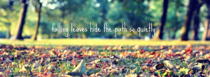 Beautiful Life Quote Facebook Cover
