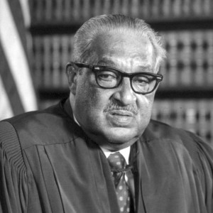 Thurgood Marshall Sworn in as Associate Justice on U.S. Supreme Court ...