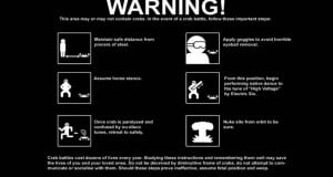 Funny Zombie Warning Signs