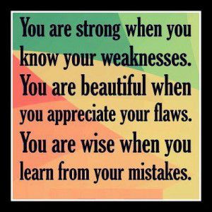 Quotes , Pictures, Inspirational Quotes, Learn from your mistakes ...