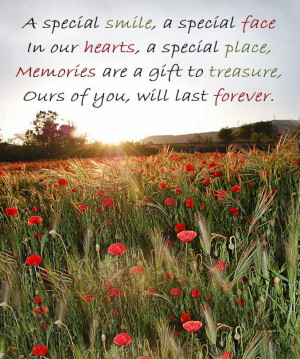 ... – Sympathy Card Wording – In Loving Memory Quotes – Poems