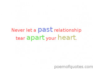 quote about past relationships.