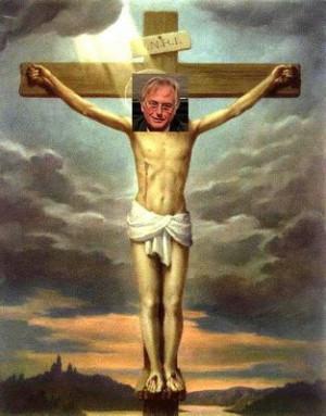 God was once a man like us.