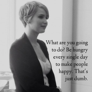 Jennifer Lawrence #quote So true