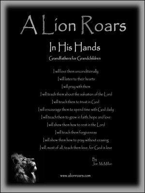 Let's all give a little roar for grandfather's and while we are at it ...