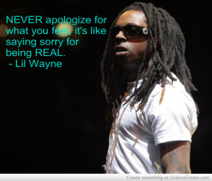 advice, cute, inspirational, lil wayne, love, pretty, quote, quotes