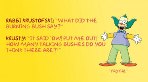 10 Krazy One-Liners From Krusty the Clown