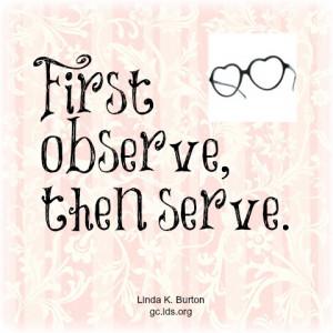 Observe then Serve