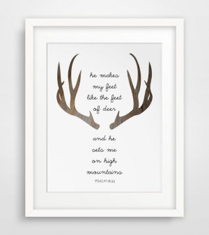 This is perfect for the deer themed nursery
